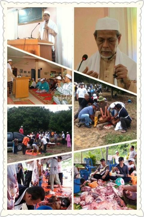 Program Solat dan Khutbah Idul Adha serta Ibadah Korban 1434H Persatuan Kebajikan Bina Budi Malaysia (BUDI)